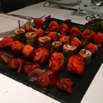 Meat platter starters