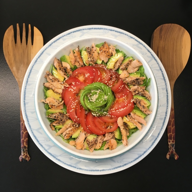 Mackerel & Avo Salad
